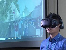 香港土力工程处引用VR设备模拟山泥倾泻场景-广东VR全景