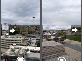 苹果5S的全景拍摄