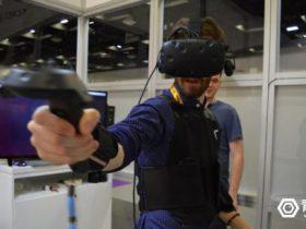 bHaptics让VR游戏可以感知:一家专注于触控感知的VR设备公司-广东广州深圳佛山东莞360全景VR全景720航拍全景
