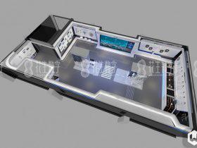 花生新闻|企业智慧科技馆——东莞勤上光电股份智慧展厅交付中-360全景VR全景航拍全景
