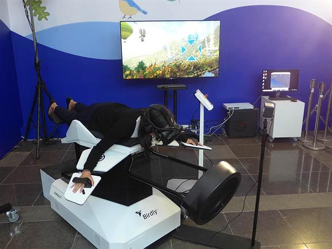 科博馆的「VR拟鸟互动体验」-VR全景