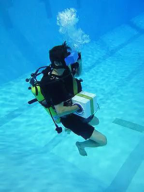 水下用VR模拟太空运动-广东360全景