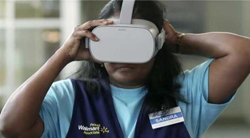 沃尔玛采用虚拟现实培训员工