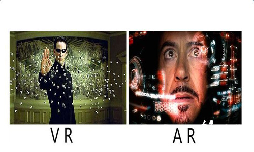 简单聊一聊VR和AR的区别