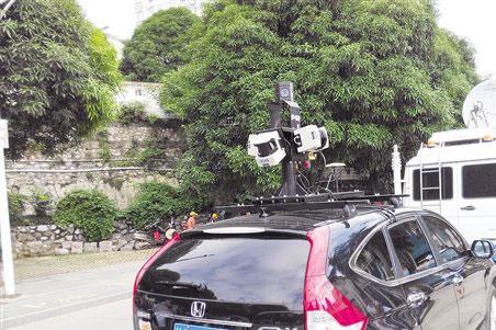 广西开展测绘法宣传日活动 首套三维全景街拍系