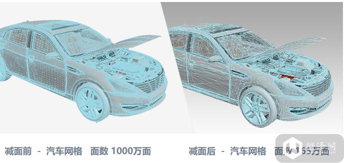 3D模型自动轻量化终于覆盖全场景了!全面领跑全行业