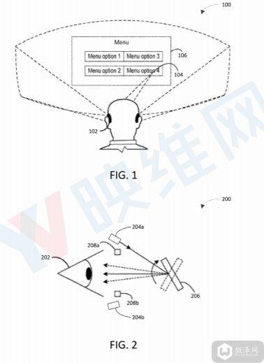 微软AR/VR专利介绍了多激光器眼动追踪系统